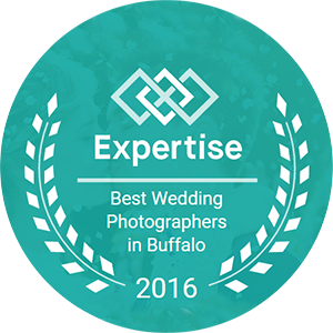 Expertise Badge Top Wedding Photographer in Buffalo