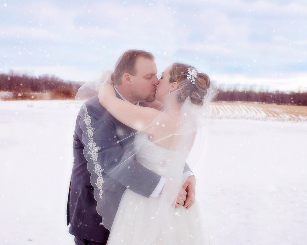 Value of a Wedding Photographer - Winter Wedding